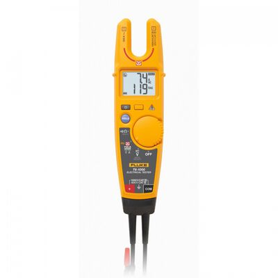 PROBADOR ELECTRICO FLUKE DE PLASTICO AMARILLO 1000 V CON FIELDSENSE T61000