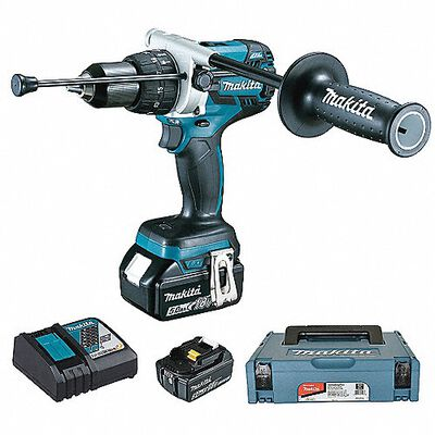 ROTOMARTILLO INALAMBRICO MAKITA DHP481RTJ 18 V C/BATERA LITIO 5 AH