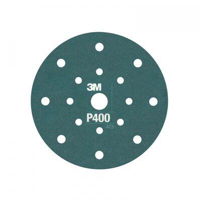 DISCO ABRASIVO 3M 60510027133 CON RESPALDO DE PLASTICO HOIT 360L P400 127MM
