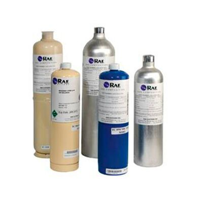 CILINDRO DE CALIBRACION RAE 4-MIX CO 50 PPM CO2 5000 PPM CH 42.5 O2 20.9 BALANCE N2 DE 34 L