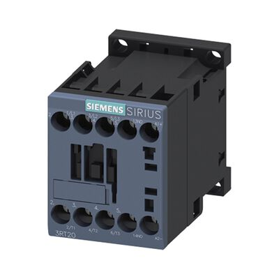 CONTACTOR SIEMENS 3RT2016-1BB41 AC-3 4 KW / 400 V