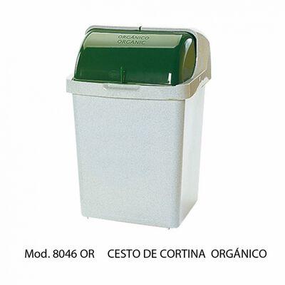 CESTO SABLON 8046OR DE CORTINA GRIS  VERDE