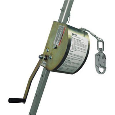 CABRESTANTE MILLER MANHANDLER 8442-Z7/65FT C/CABLE DE ACERO INOXIDABLE DE 65 FT