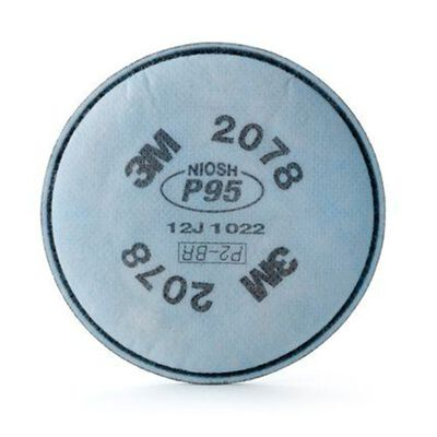 FILTRO 3M 2078 P95 PARA PARTICULAS VAPOR ORGANICO GAS ACIDO POLIPROPILENO
