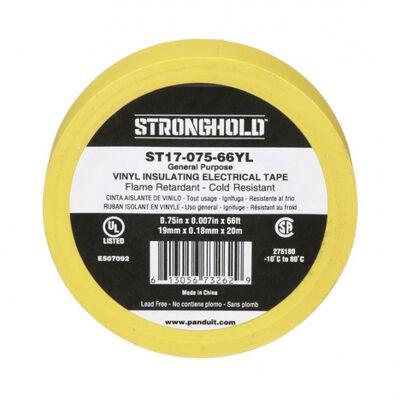 CINTA AISLANTE PANDUIT ST17-075-66YL ST17 DE PVC AMARILLO DE 0.75 IN X 66 FT X 0.007 IN