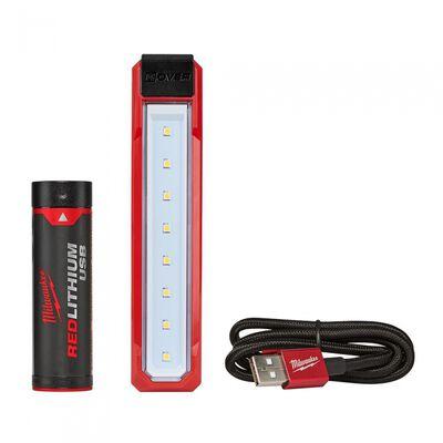 LAMPARA MILWAUKEE 2112-21 DE BOLSILLO ROVER RECARGABLE POR USB