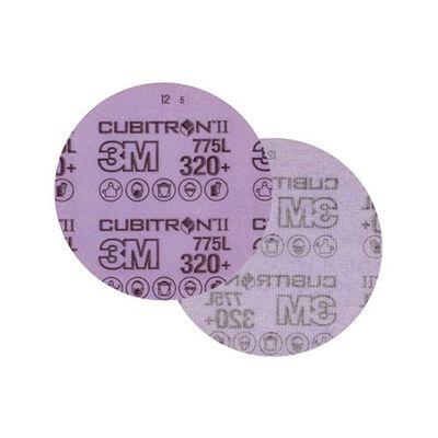DISCO 3M 60440335218 775L HOOKIT RESPALDO DE PLASTICO 5 IN GRANO 320+
