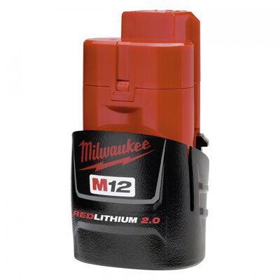 BATERIA MILWAUKEE RED LITHIUM 3.0 DE LITIO COMPACTA M12