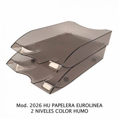 CHAROLA SABLON 2026HU PAPELERA EUROLINEA 2 NIV HUMO