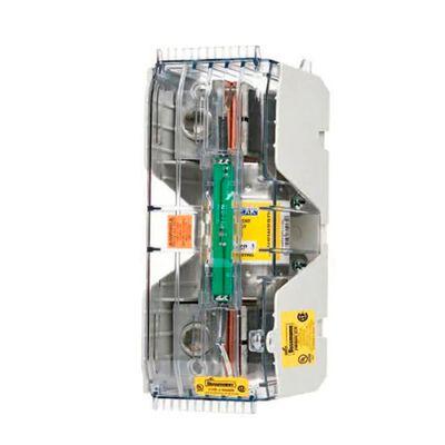 BLOQUE DE DISTRIBUCION BUSSMANN CVRI-J-60100-M VOLTS 600V AMPS 70-400A SOPORTA 200KA RMS SYM CLASE J