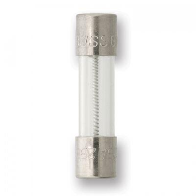 FUSIBLE BUSSMANN GMD-4-R 5 X 20 MM TUBO DE VIDRIO ACCION LENTA 250 VCA
